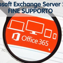 Lente di ingrandimento su Office 365