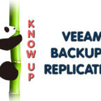 Know Up: Veeam backup & Replication