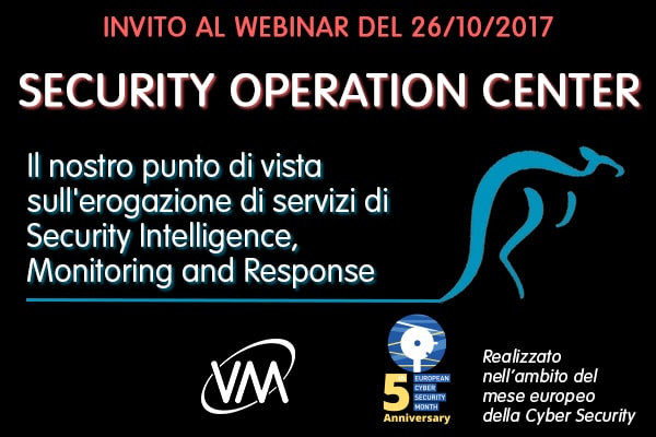 Webinar Security Operation Center