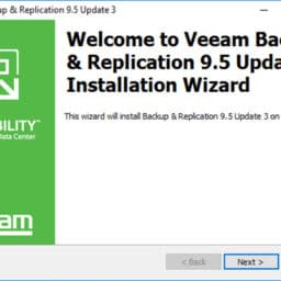 Veeam Replication 9.5 U3