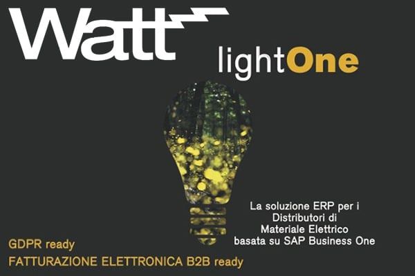 lightOne WATT Elettroforniture