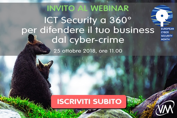 Webinar ICT Security 360 ECSM