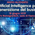 Evidenza evento Artificial Intelligence