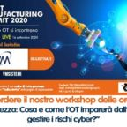 Invito evento virtuale smart manufacturing